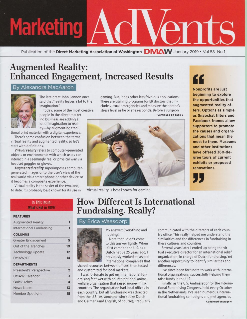 Augmented Reality: Enhanced Engagement, Increased Results
