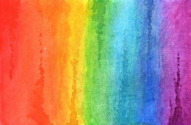 rainbow-in-watercolor-picture-id669409776
